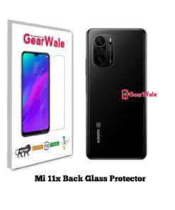 Mi 11x Back Side Glass Protector