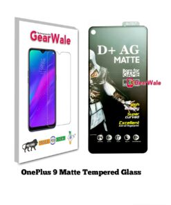 Oneplus 9 Matte Tempered Glass For Gamers