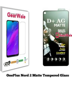 OnePlus Nord 2 Matte Tempered Glass For Gamers