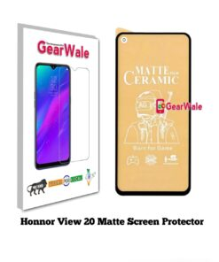 Honor View 20 Matte Screen Protector for GAMERS