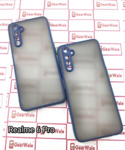Realme 6 Pro Smoke Cover With Camera Protection Special Edition