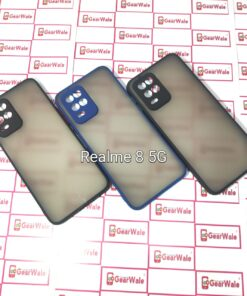 Realme 8 5G Smoke Cover With Camera Protection Special Edition