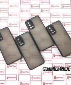 OnePlus Nord CE Smoke Cover With Camera Protection Special Edition