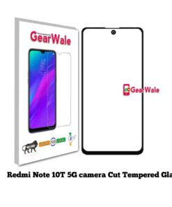Redmi Note 10T 5G Full Screen Tempered Glass with camera Cut Out