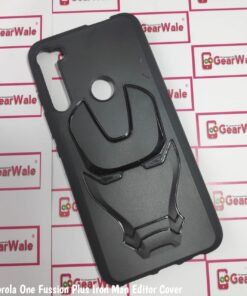 Motorola One Fusion Plus Iron Man Edition Cover