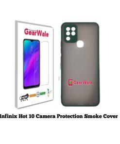 Infinix hot 10 Smoke Cover Special Edition