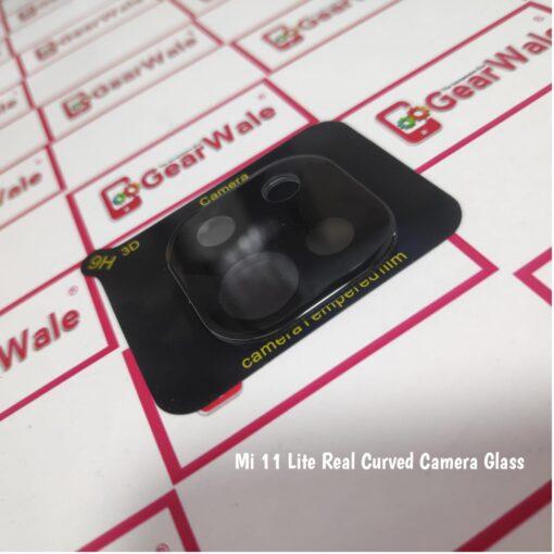 Mi 11 Lite Camera Bump Real Tempered Glass GearWale