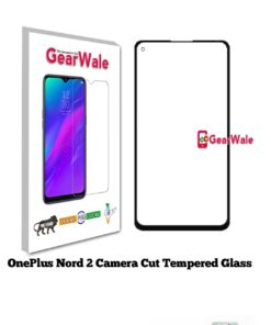 OnePlus Nord 2 Full Screen Tempered Glass with camera Cut Out