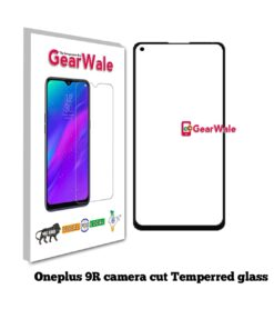 OnePlus 9R Full Screen Tempered Glass with camera Cut Out