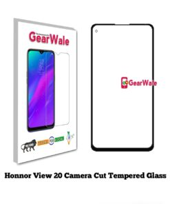 Honor View 20 Full Screen Tempered Glass with camera Cut Out