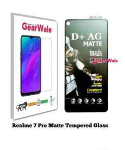 Realme 7 Pro Matte Tempered Glass For Gamers