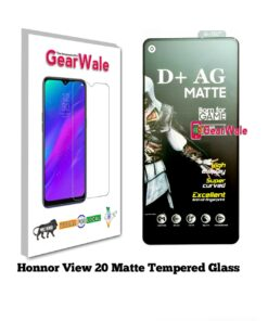 Honor View 20 Matte Tempered Glass For Gamers