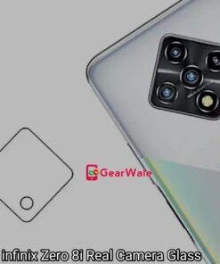 Infinix Zero 8i Camera Bump Tempered Glass Protector