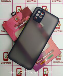 Infinix Hot 10 Smoke Cover Limited Edition
