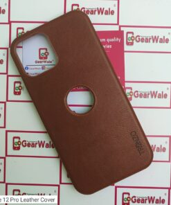 iPhone 12 Pro leather cover