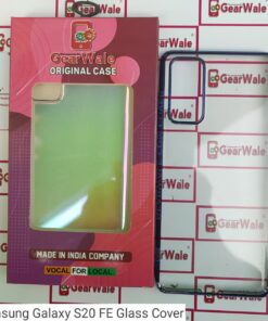 Samsung Galaxy S20 FE Full Transparent Glass Cover