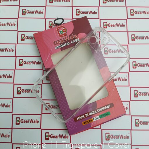 iPhone 11 Clear View Hard Transparent Cover with Camera Protection