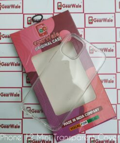 iPhone 12 Mini Clear View Hard Transparent Cover mini transparent cover