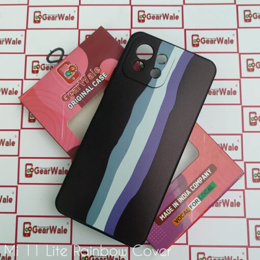 mi 11 lite rainbow cover with camera protection