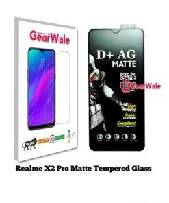 realme X2 pro matte tempered glass